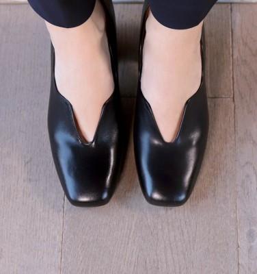 RANCE BLACK CHiE MIHARA zapatos