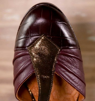 JUDETA GRAPE & BRONZE CHiE MIHARA shoes
