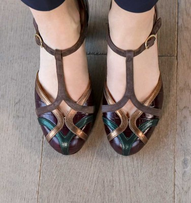 U-KOREA GRAPE CHiE MIHARA zapatos