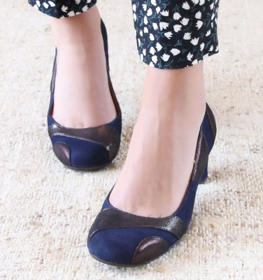 JUNIA DARK BLUE CHiE MIHARA zapatos