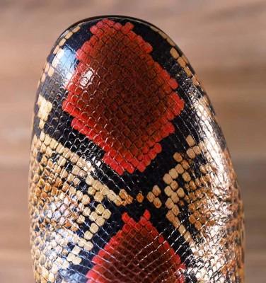 QUAKA YELLOW CHiE MIHARA boots