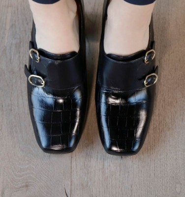 RELIS BLACK CHiE MIHARA shoes