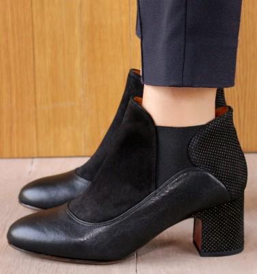 NINO GALAXY BLACK CHiE MIHARA boots