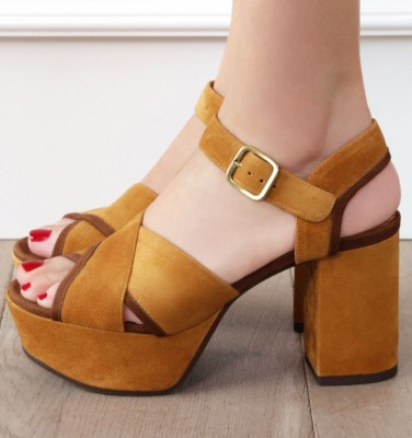 DA-YENDI BROWN CHiE MIHARA sandals