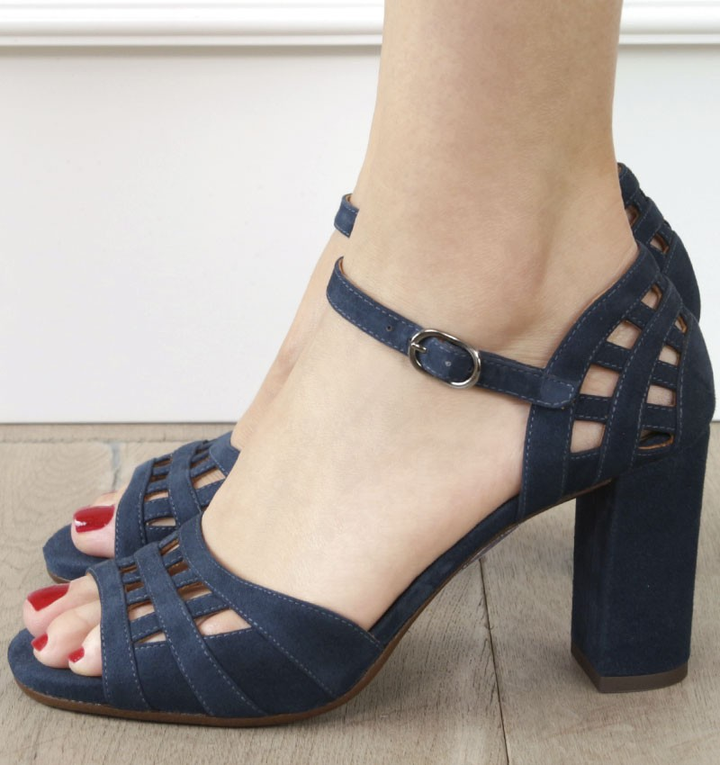 BABIL BLUE CHiE MIHARA sandals