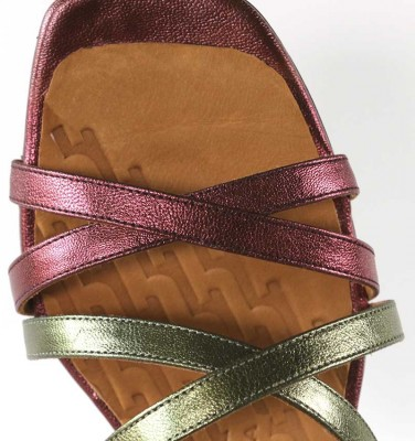 TELO GRAPE CHiE MIHARA sandales
