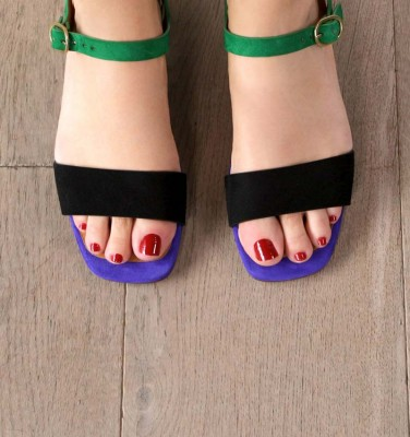 UBANE BLACK CHiE MIHARA sandals