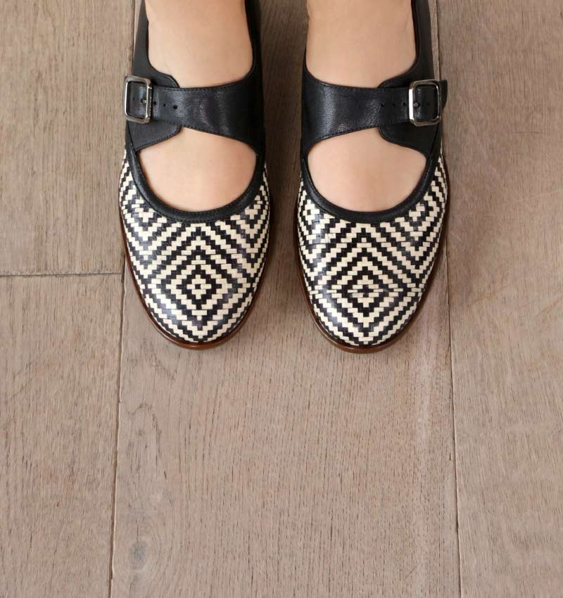 SABI BLACK CHiE MIHARA shoes