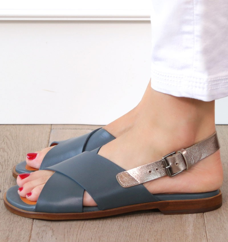 WAN SILVER CHiE MIHARA sandals