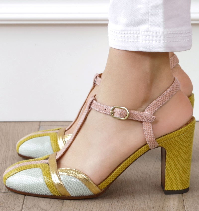 INMA GREEN CHiE MIHARA shoes