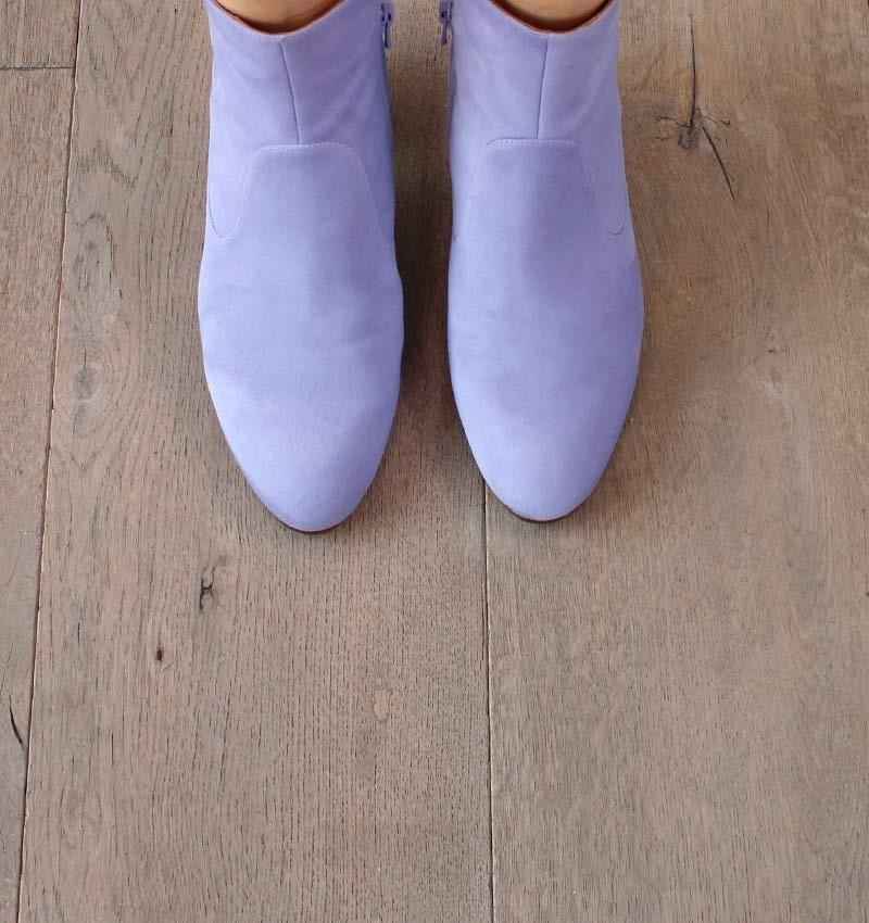 NICA LAVENDER CHiE MIHARA bottes