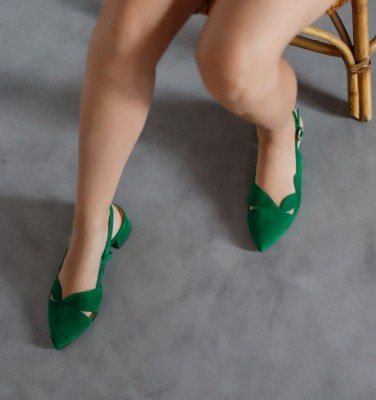 R-RUNE GREEN CHiE MIHARA shoes