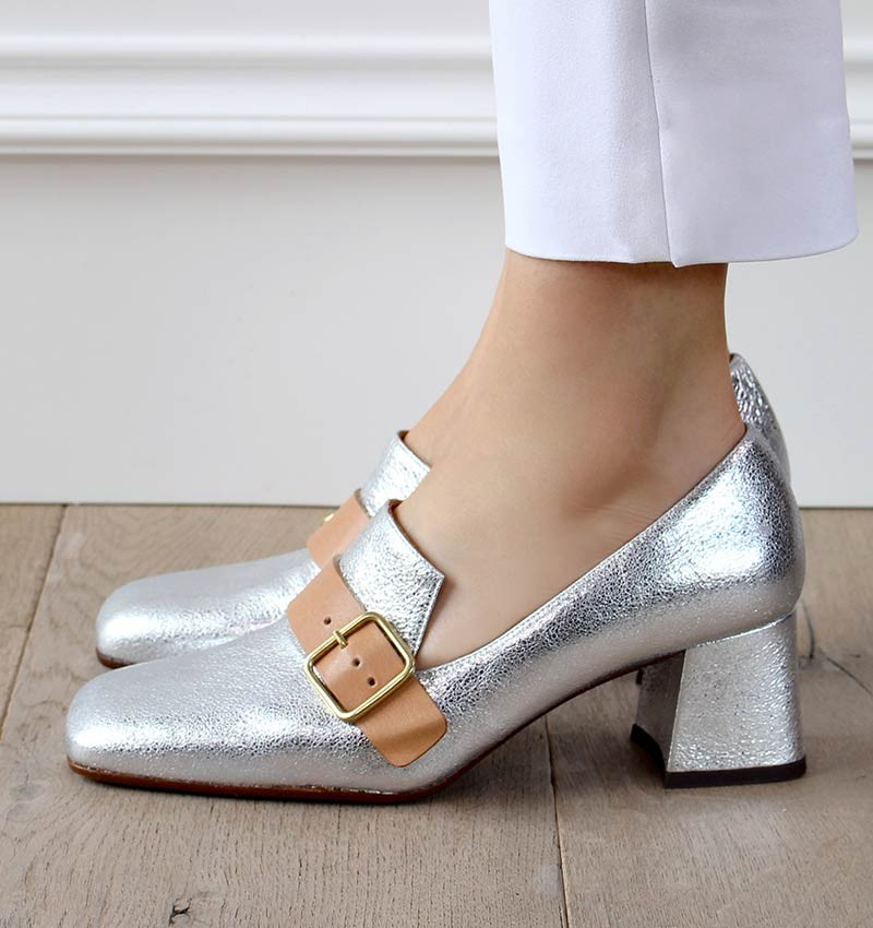 VOCA SILVER CHiE MIHARA shoes