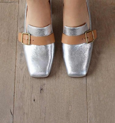 VOCA SILVER CHiE MIHARA chaussures