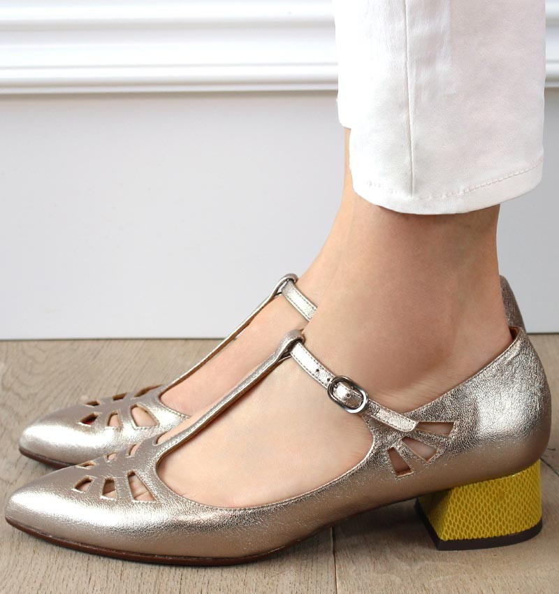 RUT SILVER CURRY CHiE MIHARA shoes