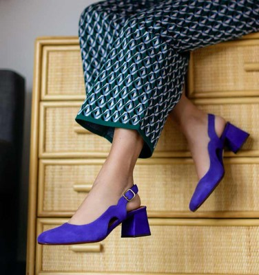 VOLDIR PURPLE CHiE MIHARA shoes
