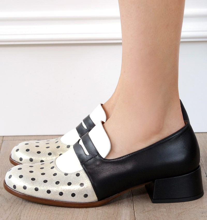 SALEM BLACK CHiE MIHARA shoes
