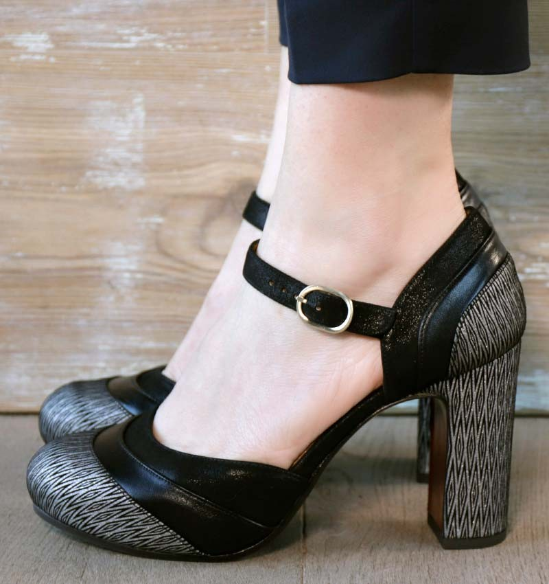 DELIA SILVER CHiE MIHARA chaussures