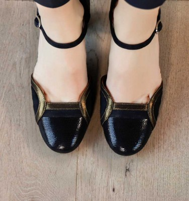 WIMO BLACK CHiE MIHARA chaussures