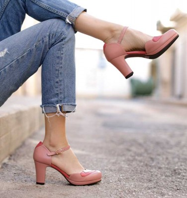 JALOVE PINK CHiE MIHARA shoes