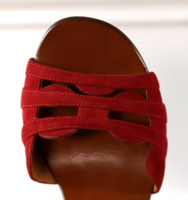 HEBEL RED CHiE MIHARA sandals