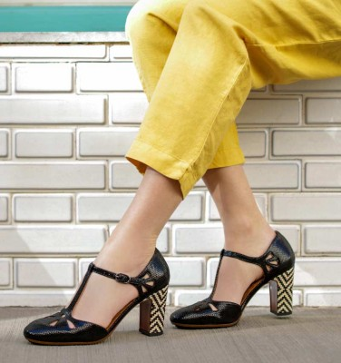 IEL BLACK CHiE MIHARA shoes