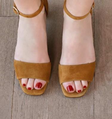 LUSAKA COGNAC CHiE MIHARA sandals