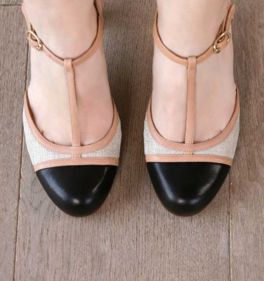 KUBA BLACK CHiE MIHARA shoes