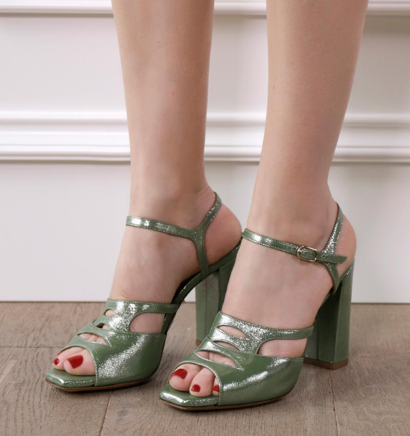 ESTHER GREEN CHiE MIHARA sandals