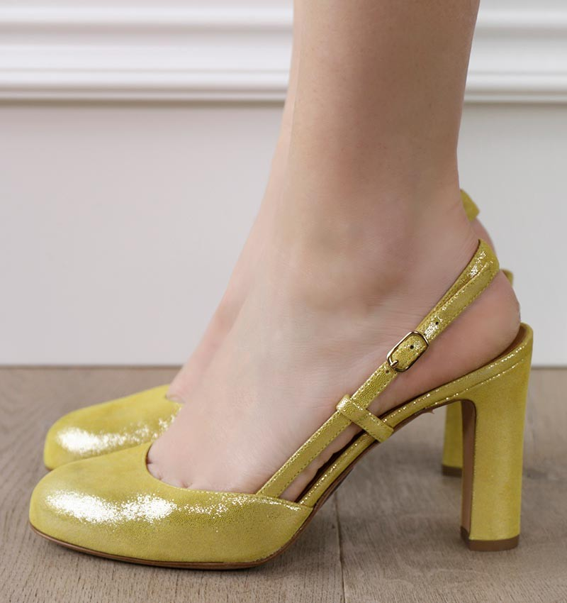 HASSEL YELLOW CHiE shoes