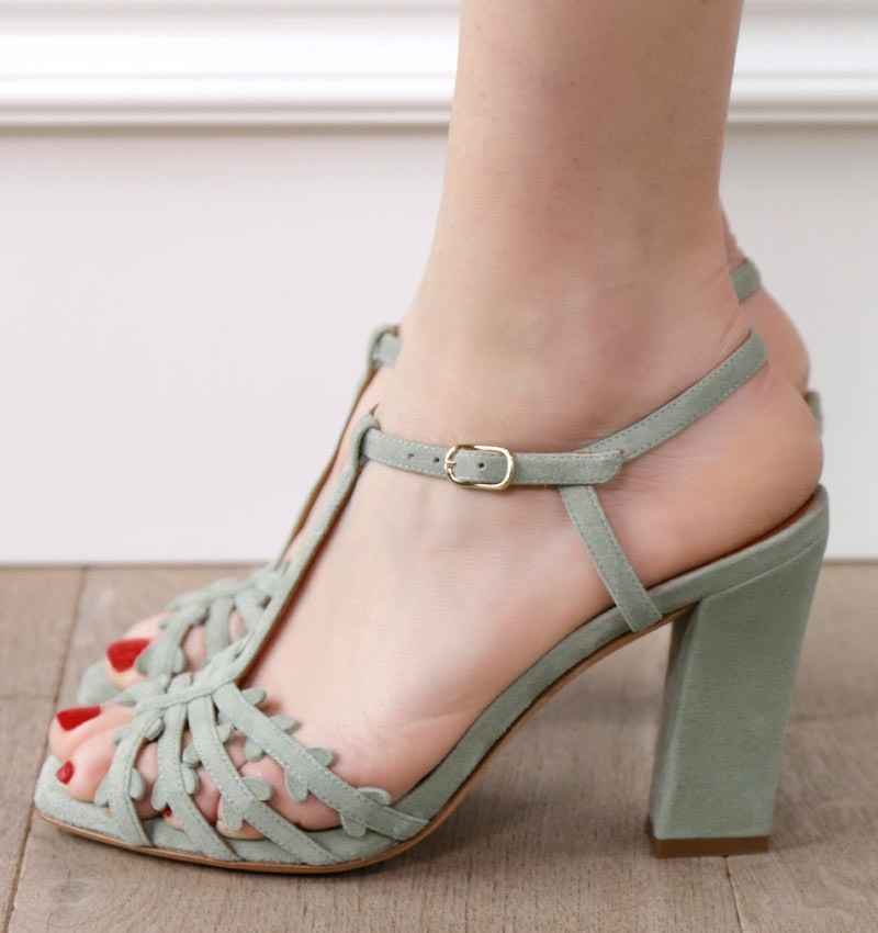 JANINA SALVIA CHiE sandals