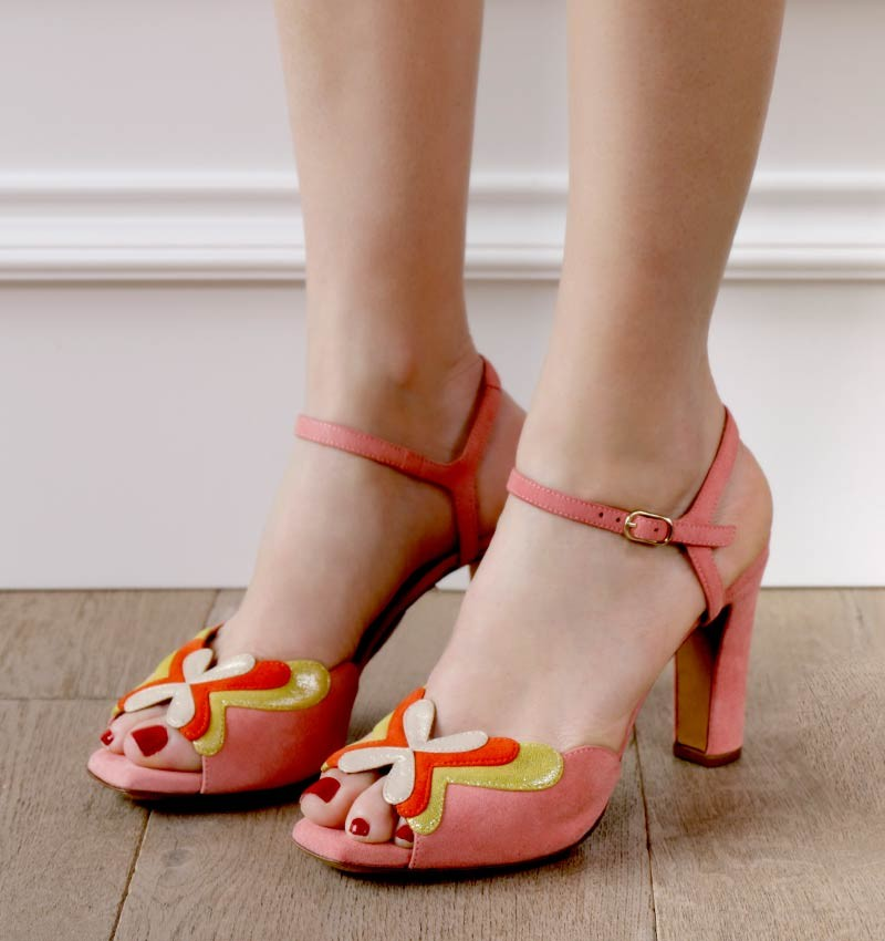 JULISA CHERRY PINK CHiE sandals