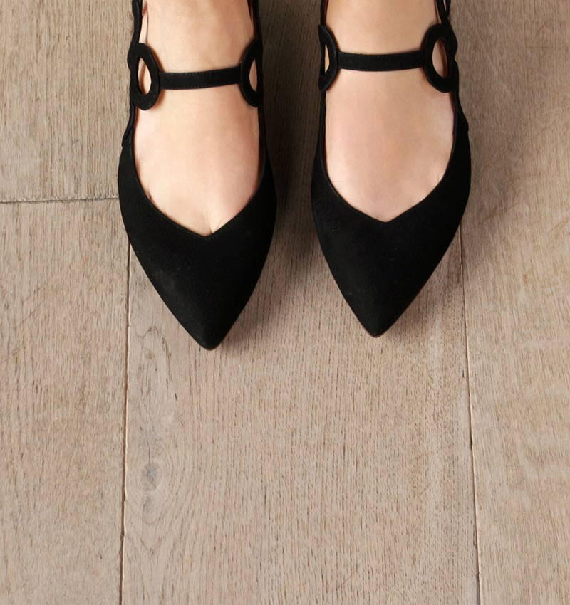 ROX BLACK CHiE MIHARA shoes