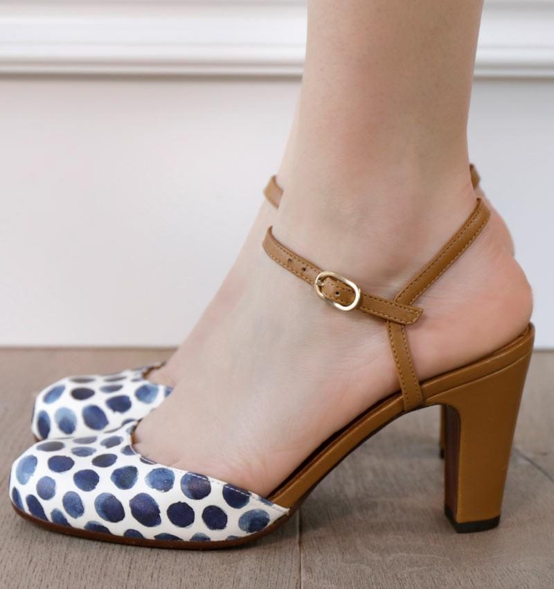 KOLA OCHER CHiE MIHARA zapatos