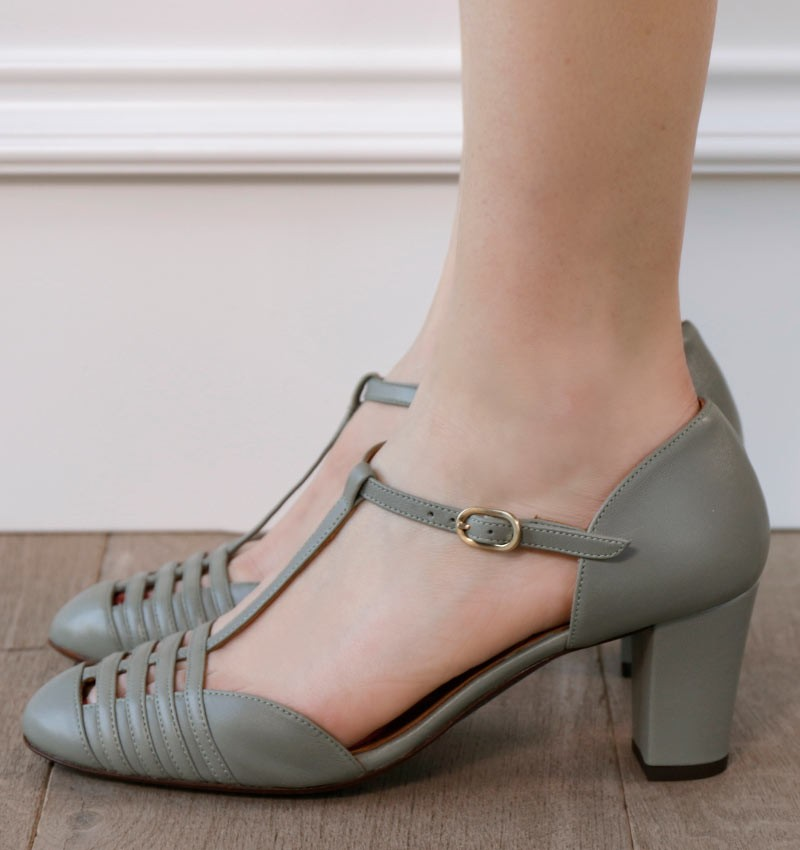 TABBY GREEN CHiE MIHARA shoes