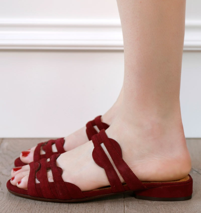 VENDA GRAPE CHiE MIHARA sandals
