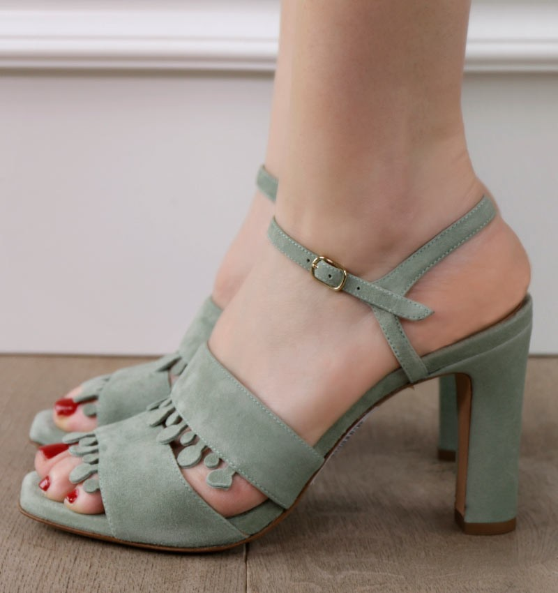 JOELLE GREEN CHiE MIHARA shoes