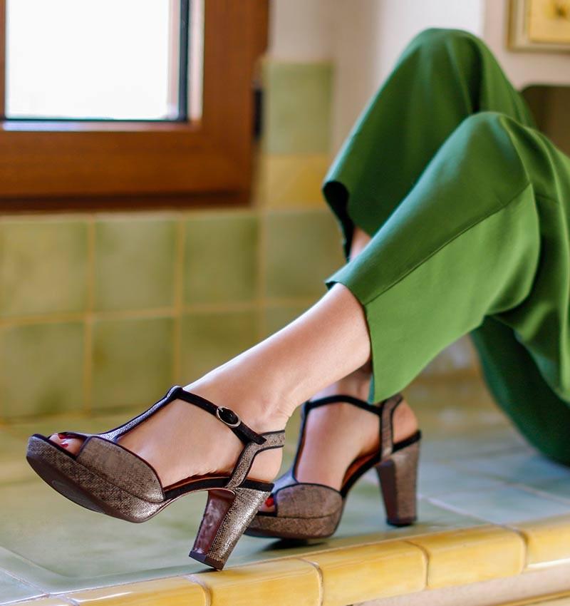 EDUNI OLAM BLACK CHiE MIHARA sandals