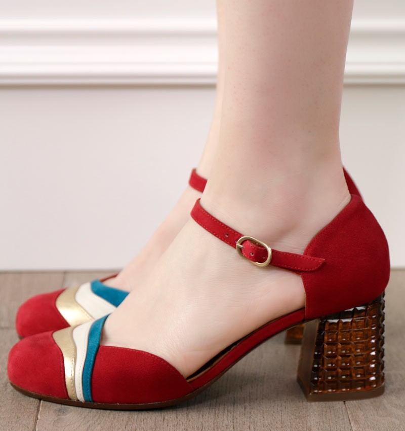 MACE RED CHiE MIHARA shoes