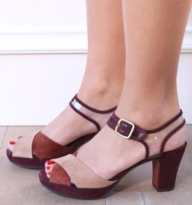 BARNA PEACH CHiE MIHARA sandals