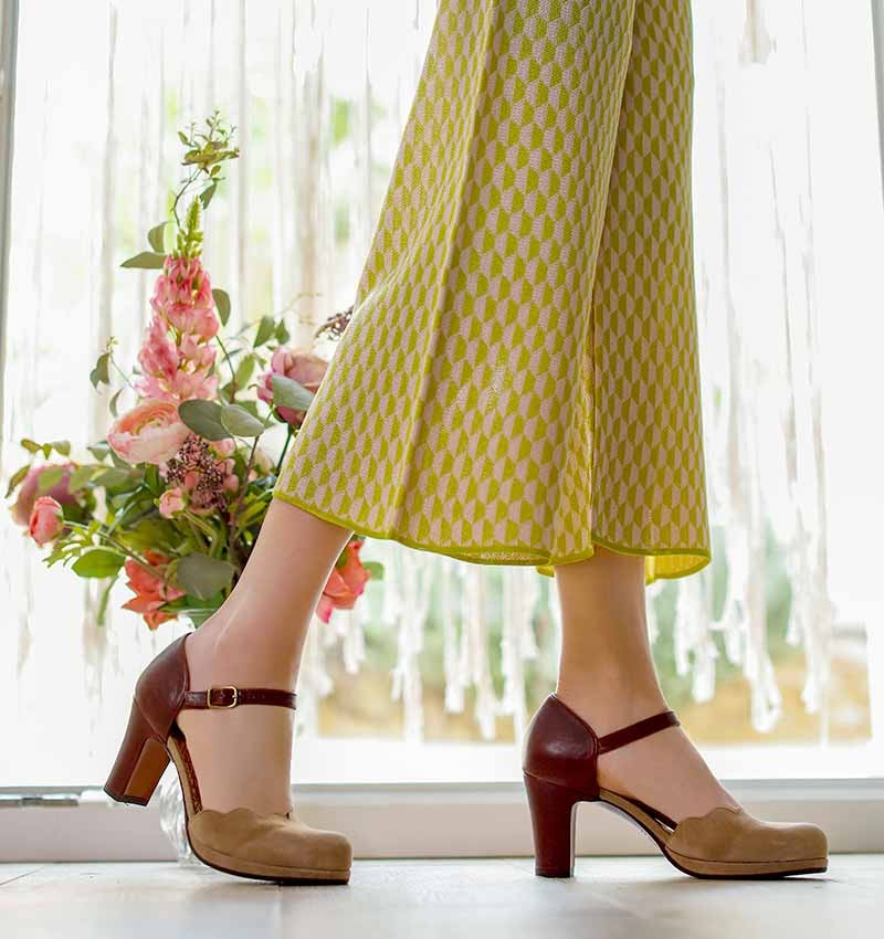 SELA BROWN CHiE MIHARA chaussures