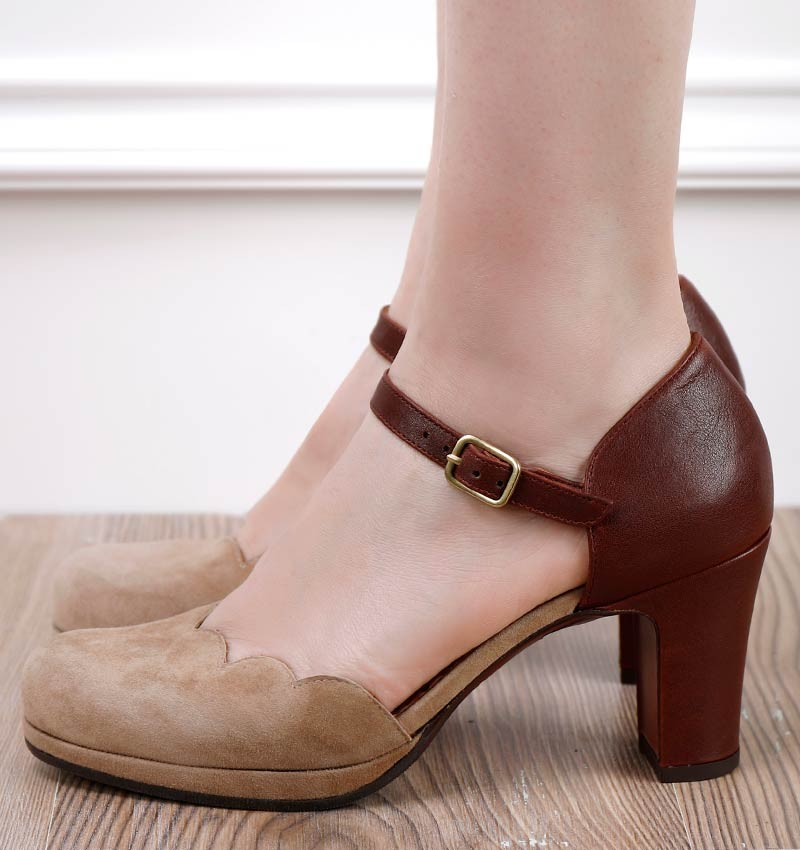 SELA BROWN CHiE MIHARA shoes