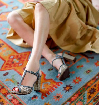 ABAL NUDE CHiE MIHARA sandals