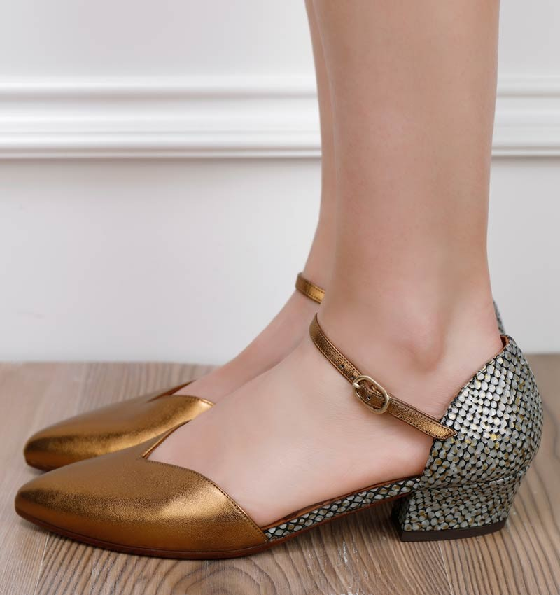 R-RIAL BRONZE CHiE MIHARA chaussures