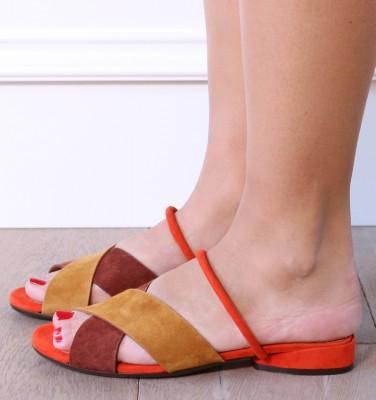 VOTIRA COGNAC CHiE MIHARA sandals