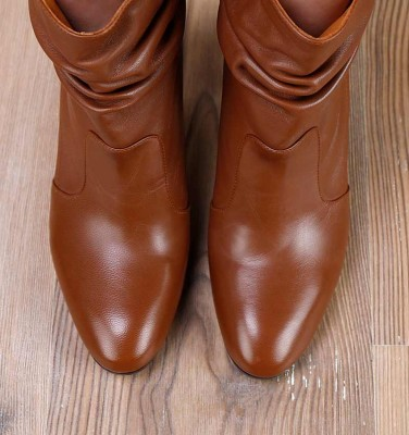 E-EVIL BROWN CHiE MIHARA boots