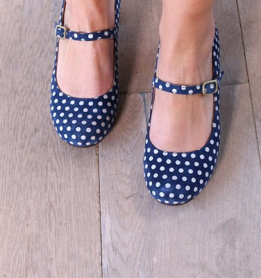 TROC NAVY CHiE MIHARA shoes