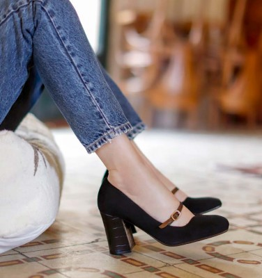 RABEL BLACK CHiE MIHARA shoes