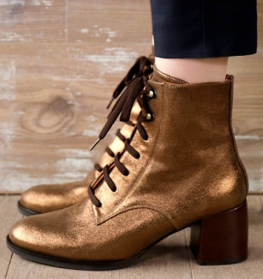 OR-OMAST BRONZE CHiE MIHARA boots