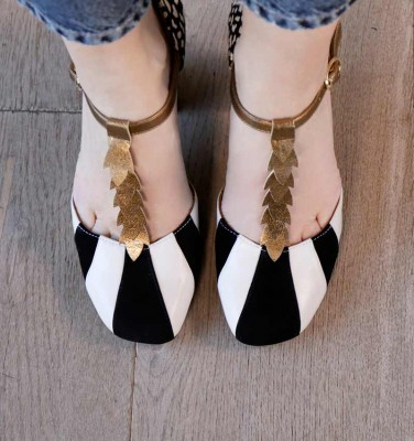 FABAD BLACK CHiE MIHARA shoes
